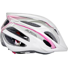 Alpina FB 2.0 Flash Helmet Youth white-pink-silver